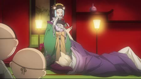 Отрывок из аниме очень приятно бог 2 сезон.